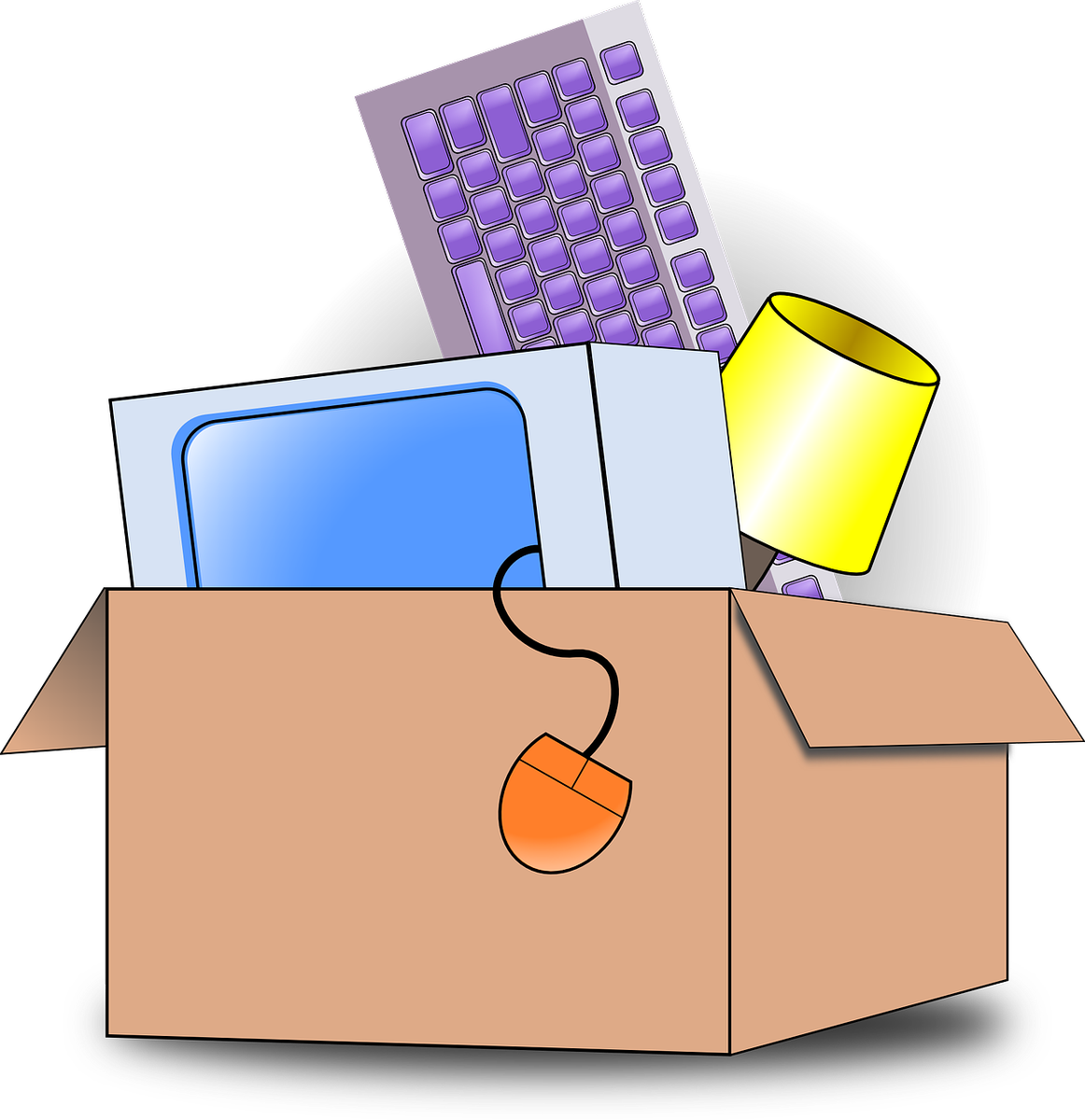 Moving clipart office. Aauw campus aauwcampus twitter