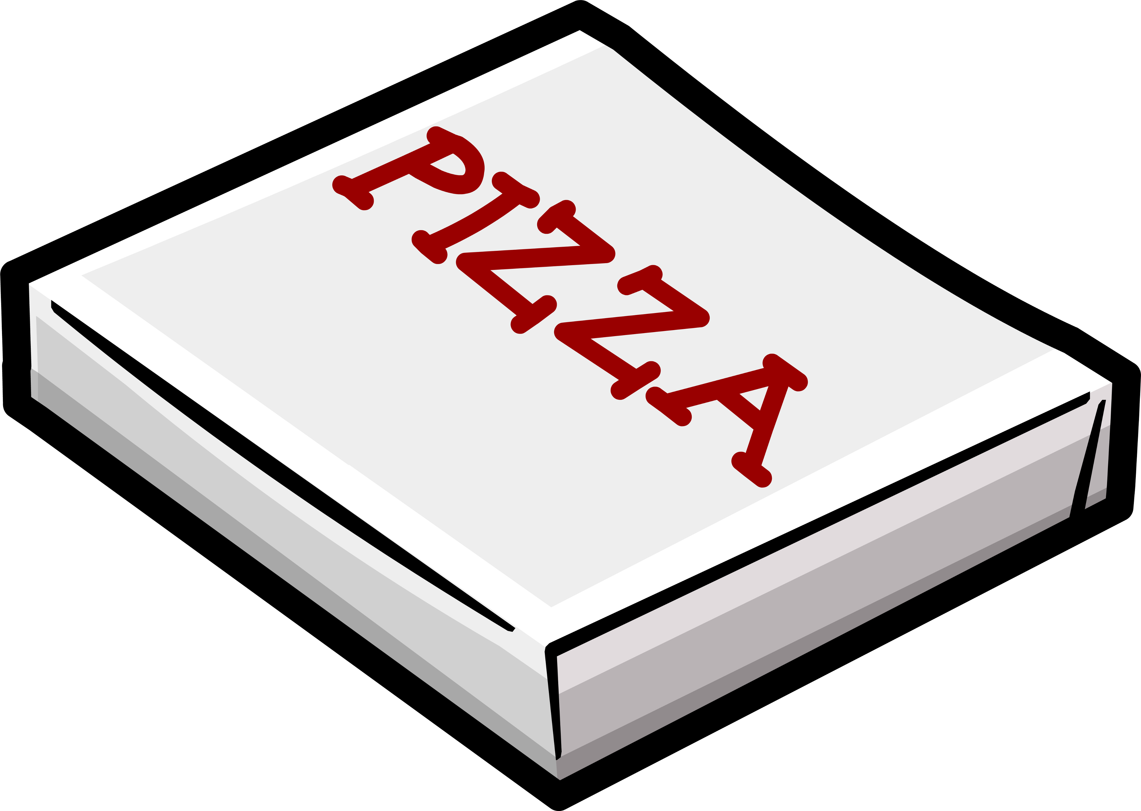 club clipart pizza