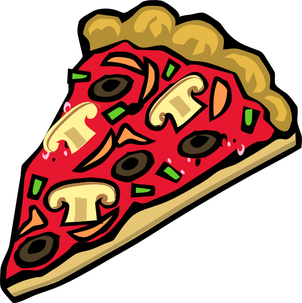 Veggie clip art at. Moving clipart pizza