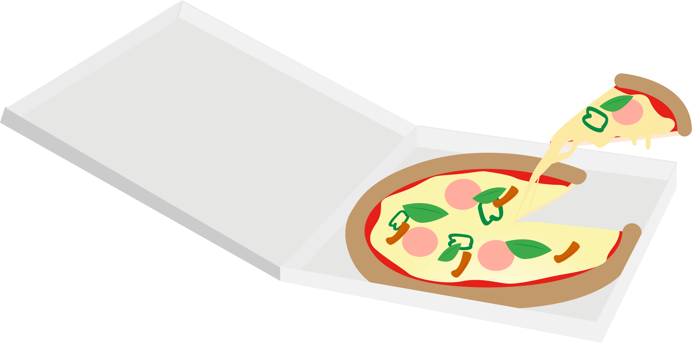 Clipart box pizza. In big image png