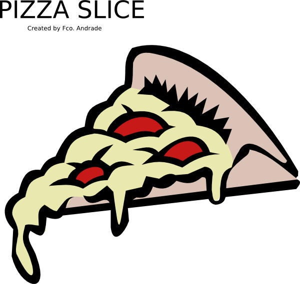Slice clip art at. Money clipart pizza