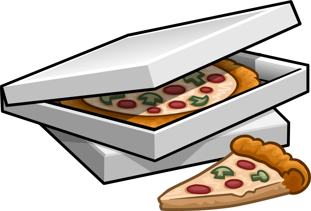 Image boxes of png. Clipart box pizza