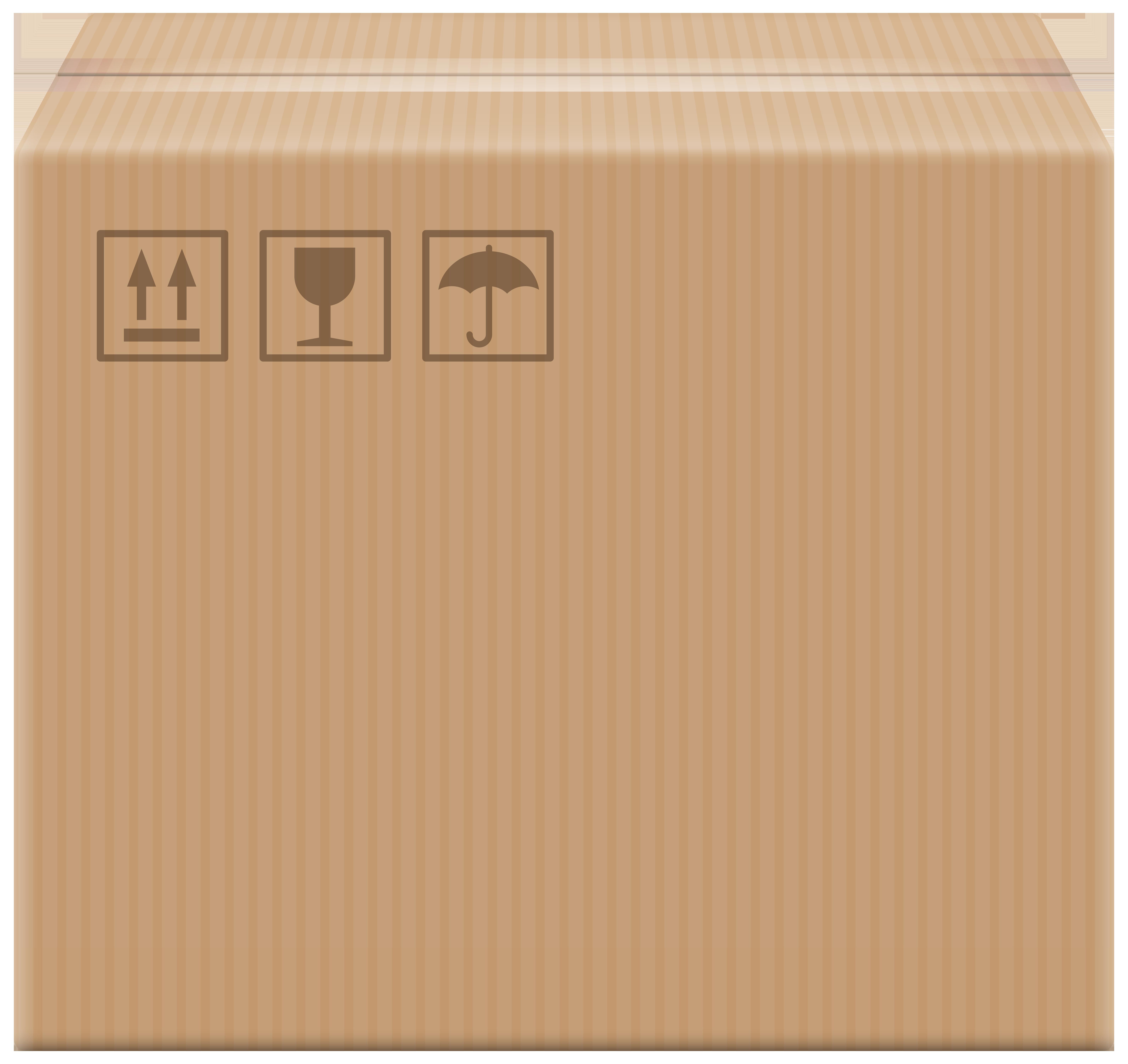 Cardboard clip art best. Clipart box quality