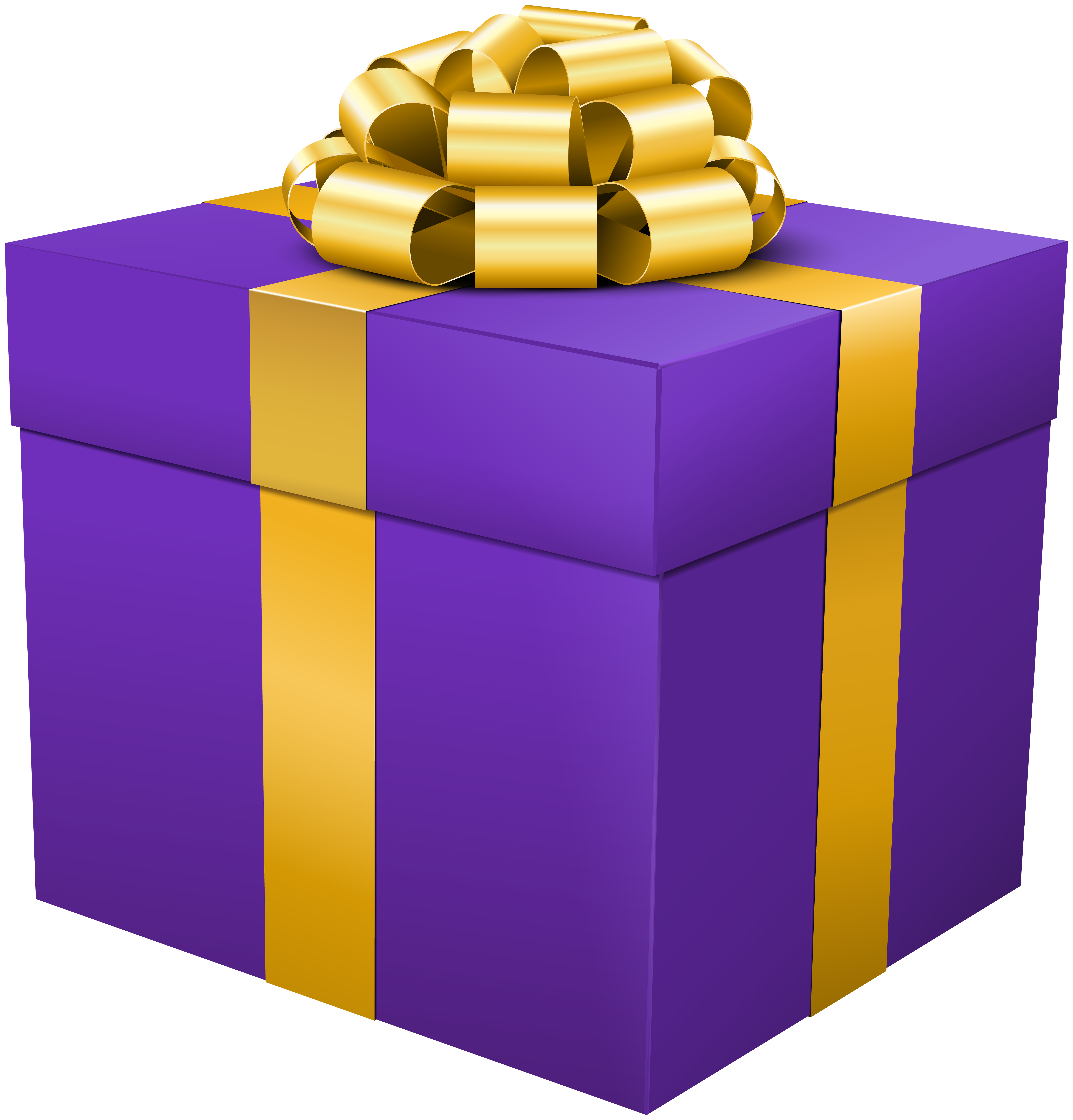 Clipart present purple. Gift box png clip