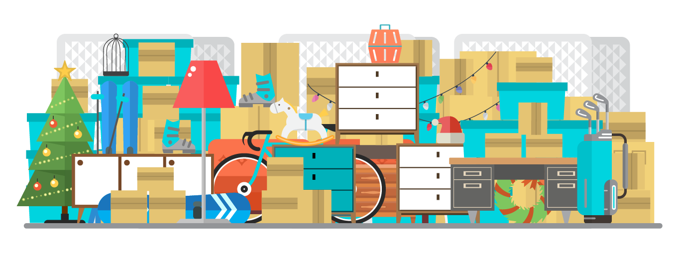 Space callbox storage for. Closet clipart store room