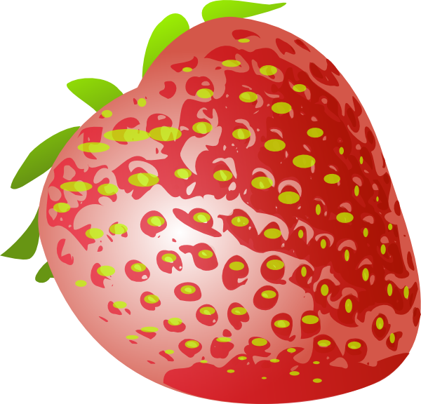 Strawberries clipart small strawberry. D clip art at