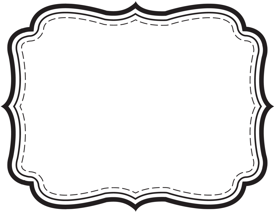 Retro frame png.  collection of label