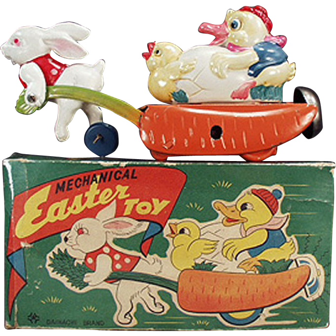 Sleigh clipart toy. This colorful vintage tin