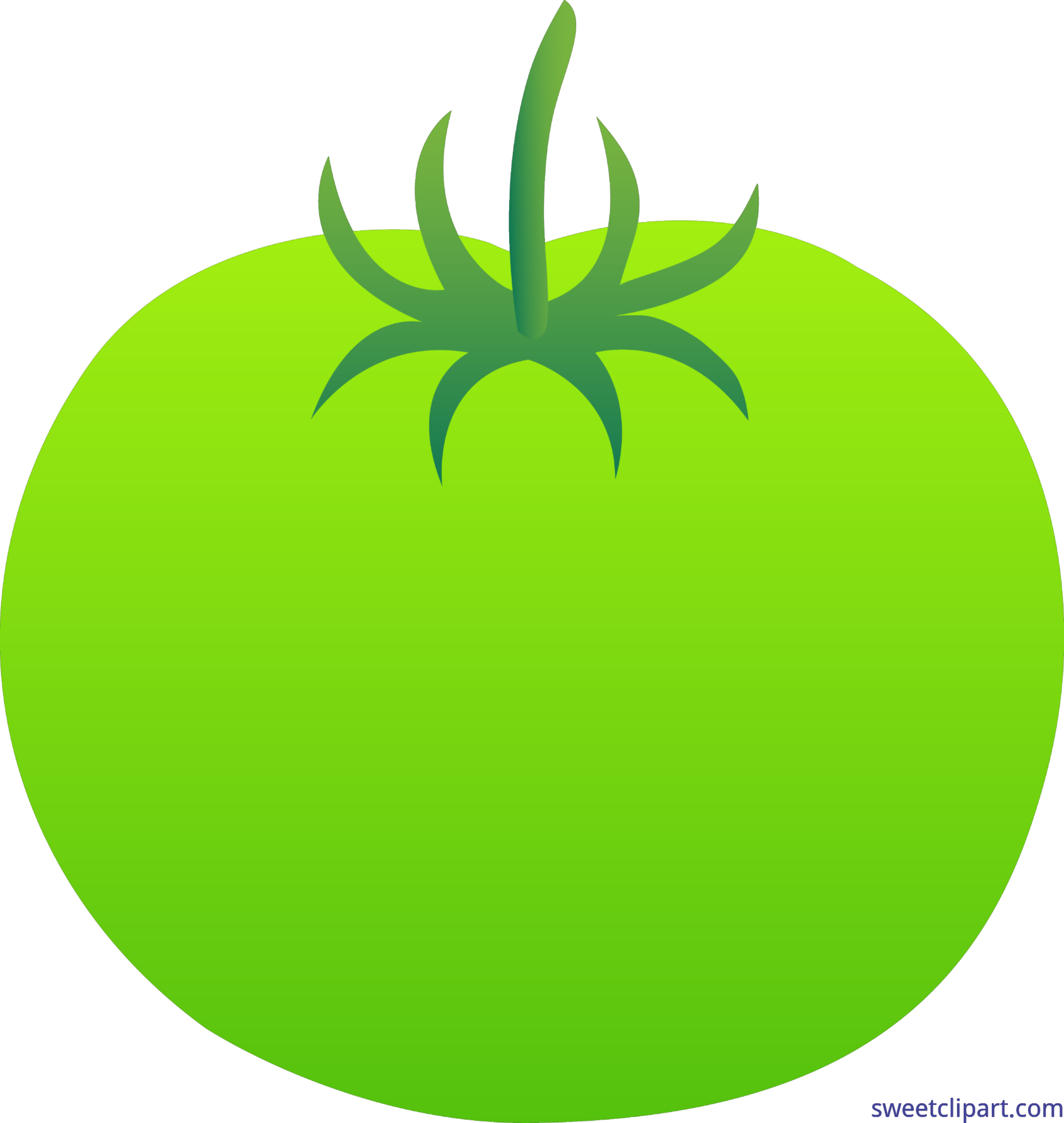 Tomatoes clipart tomato leaf. Green clip art sweet