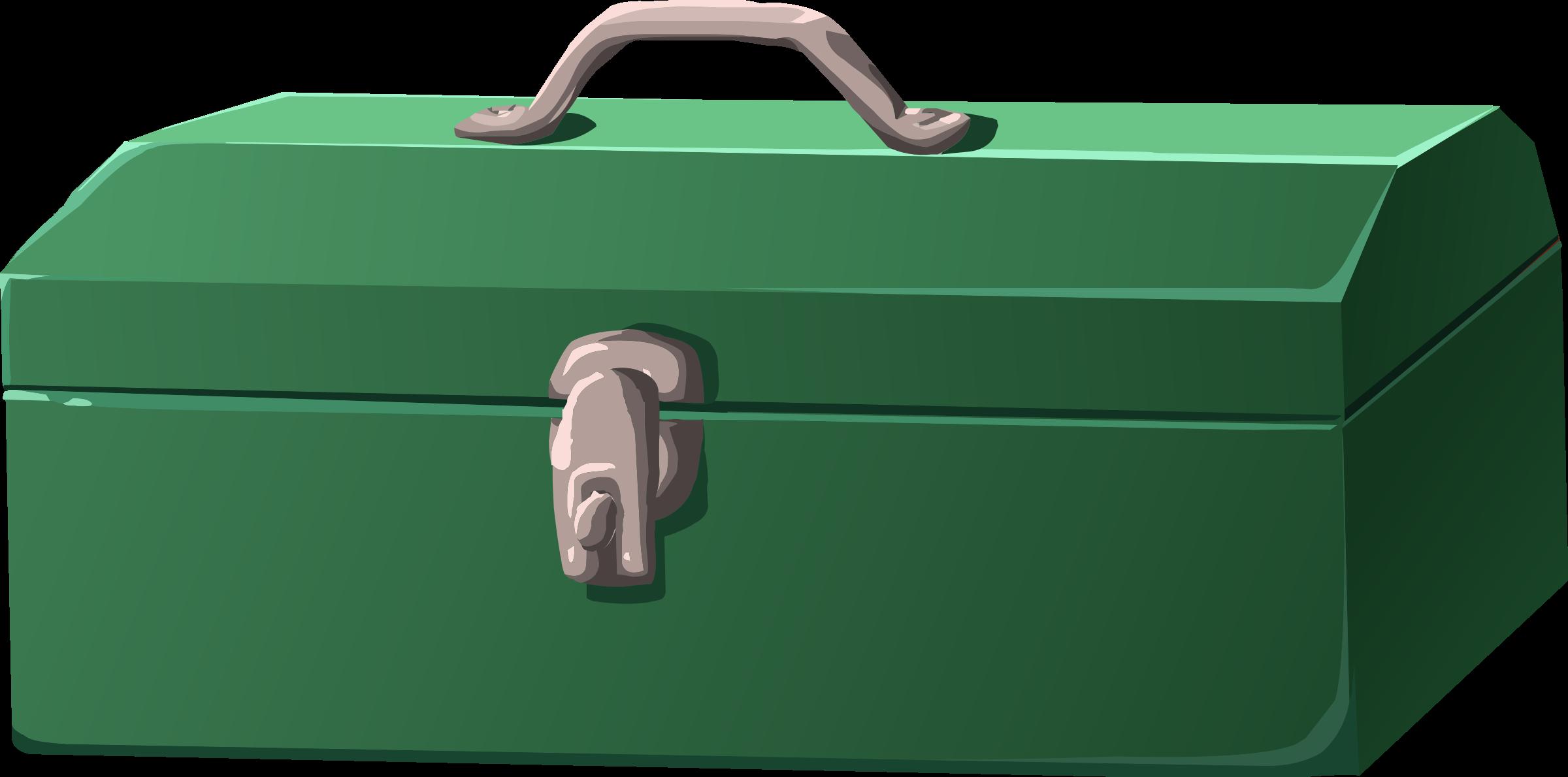 green clipart briefcase