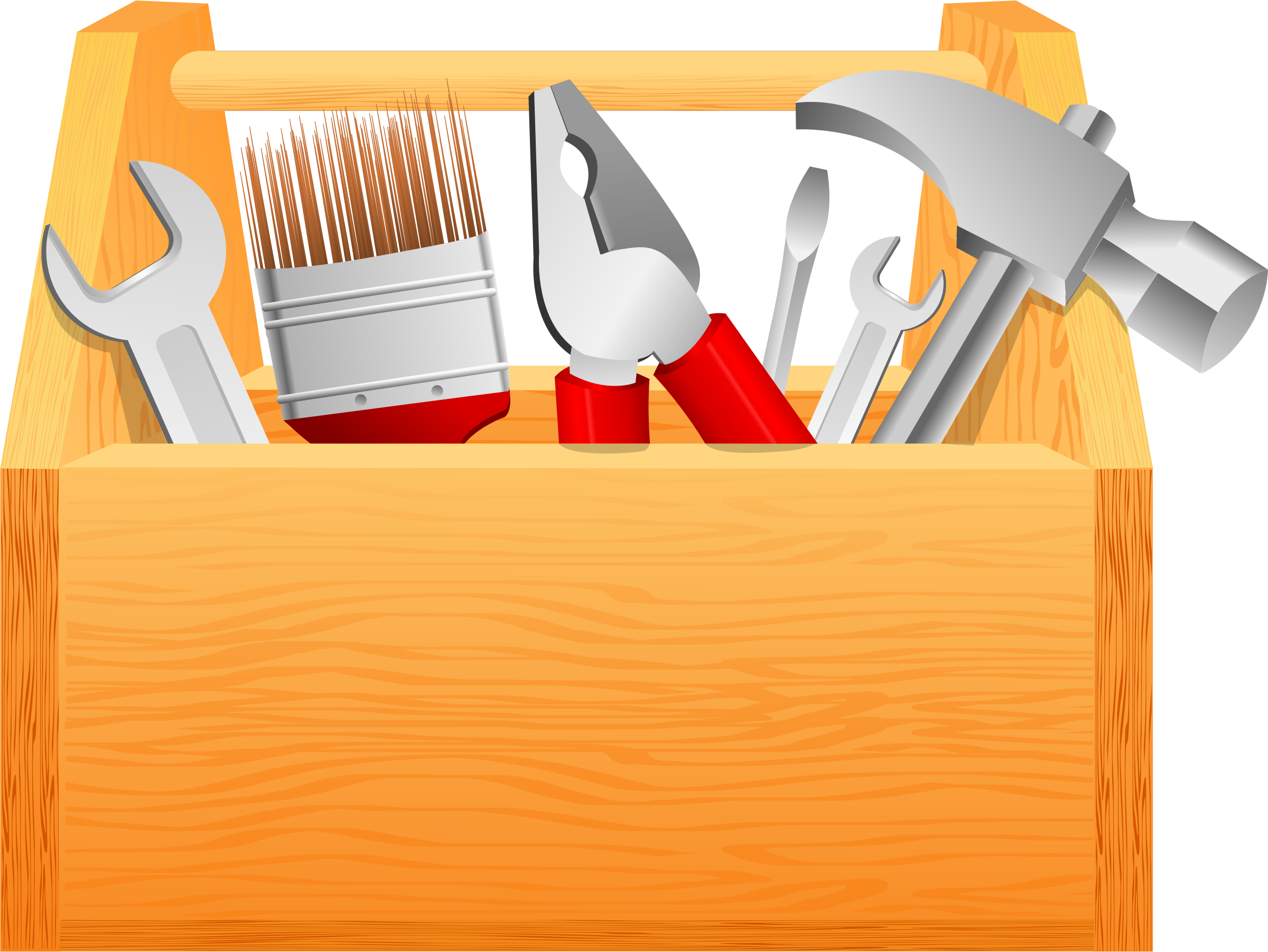 Tool clipart tool chest. Simple box big image