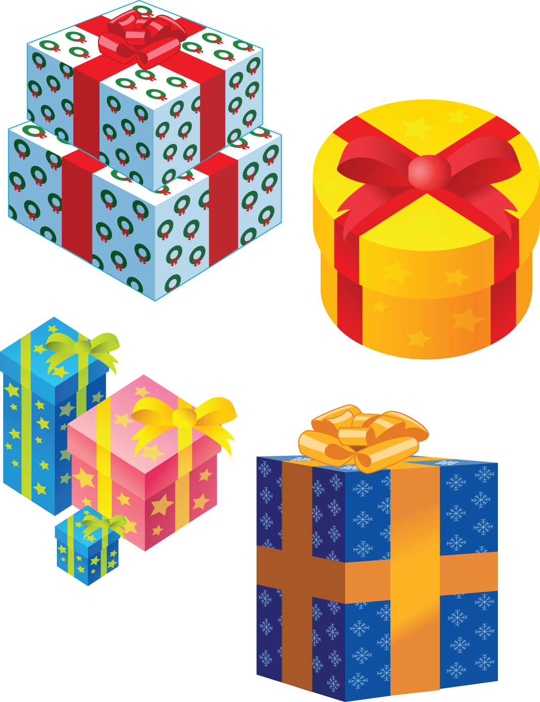 Gifts png images free. Gift clipart bunch