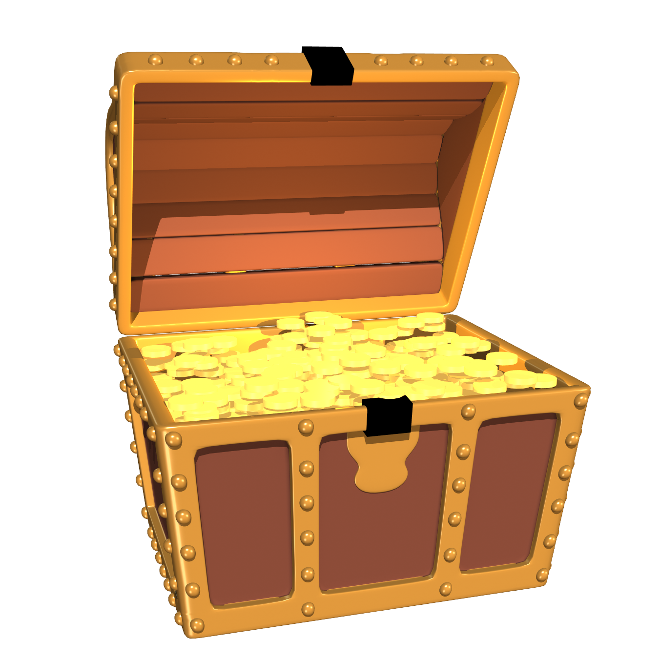Treasure clipart animated. Chest confirmation visualization