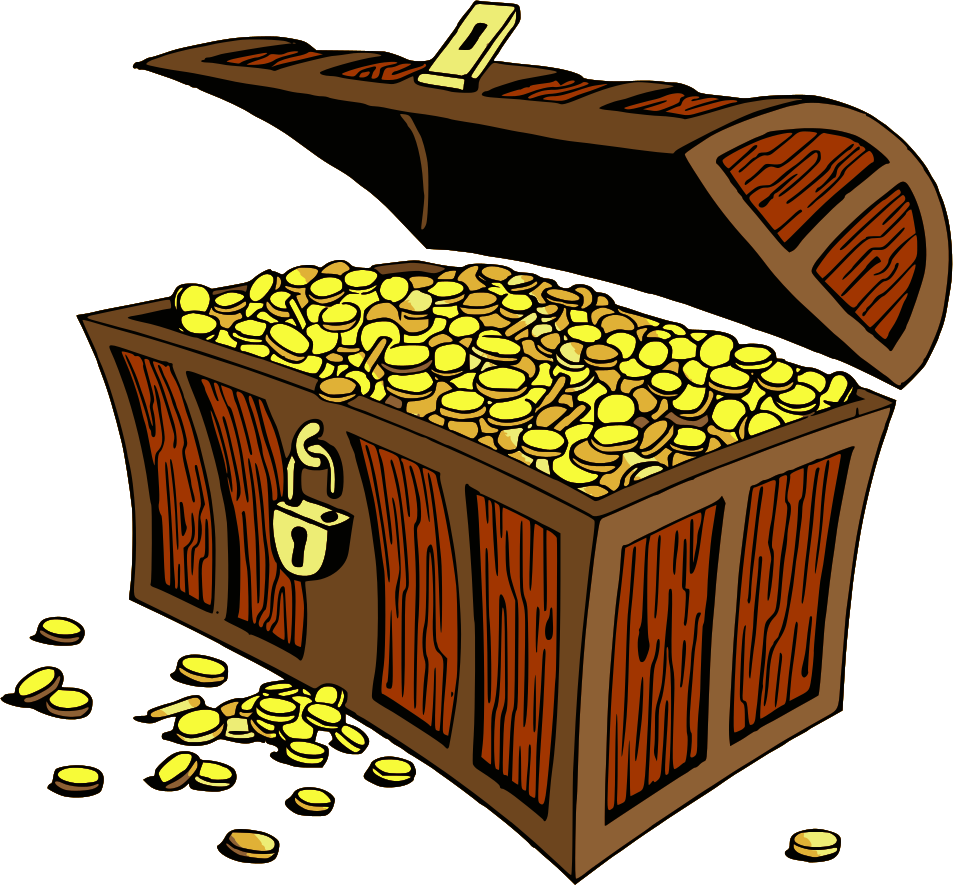 Treasure clipart money.  collection of box