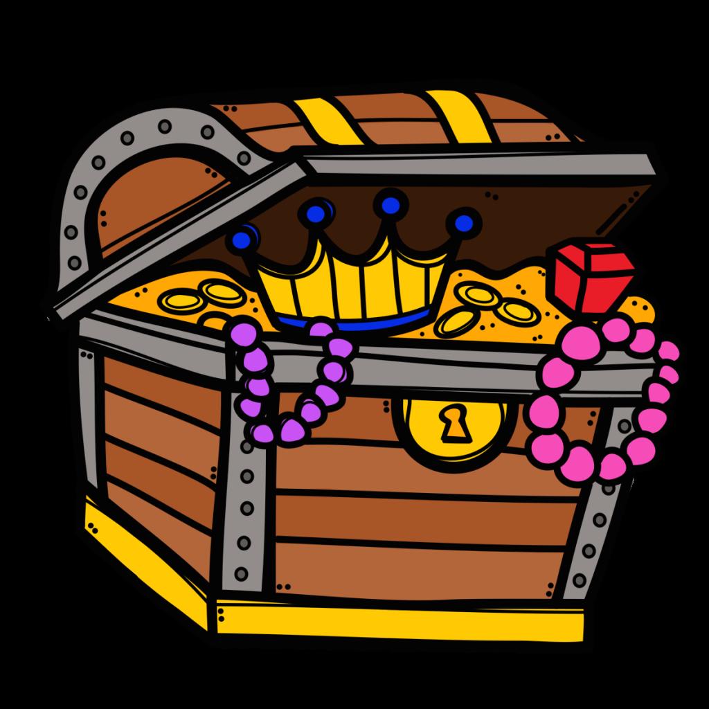 Treasure box free download. Evidence clipart scavenger