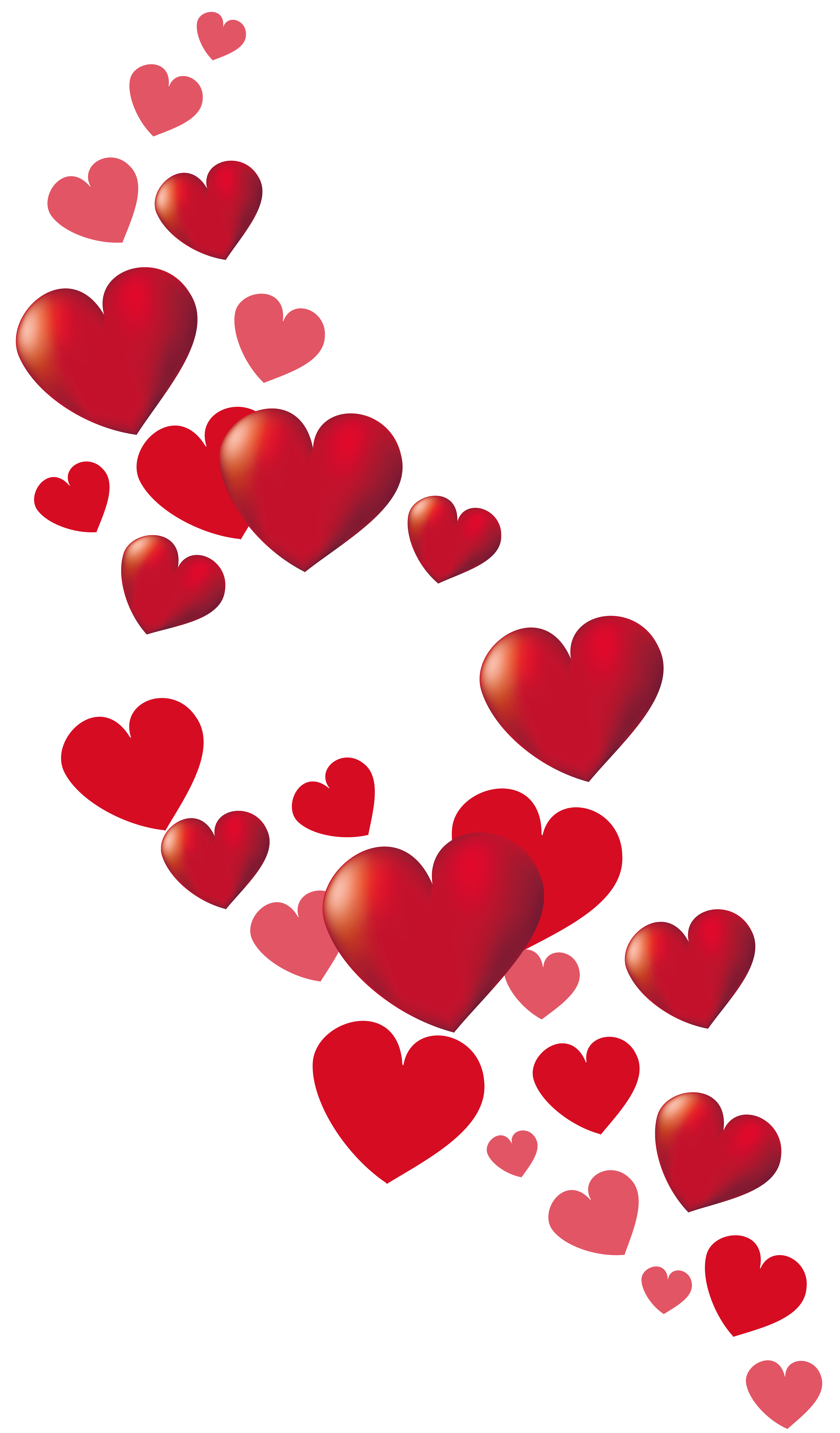 Hearts decor png picture. Valentine clipart stamp