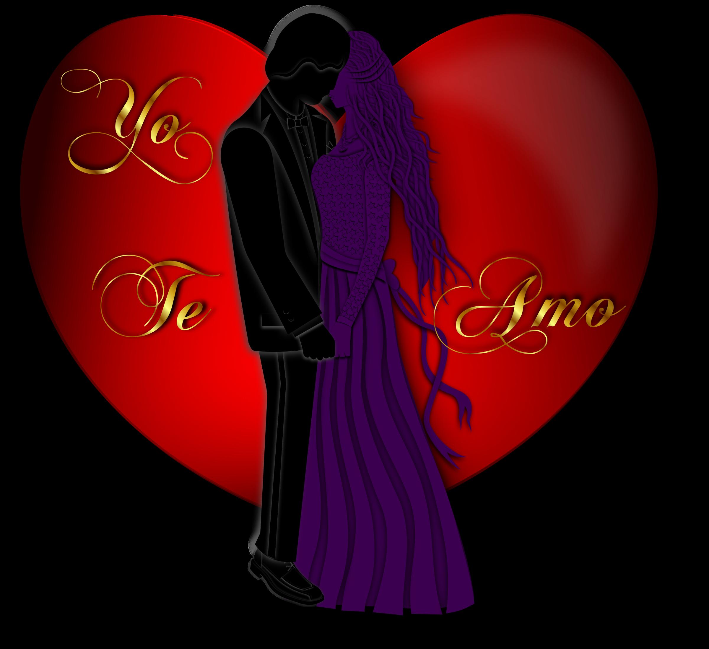 Clipart box valentine. Yo te amo icons
