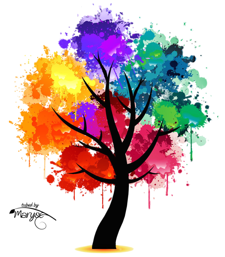 Memories clipart colorful tree. Tubes psp desen pinterest