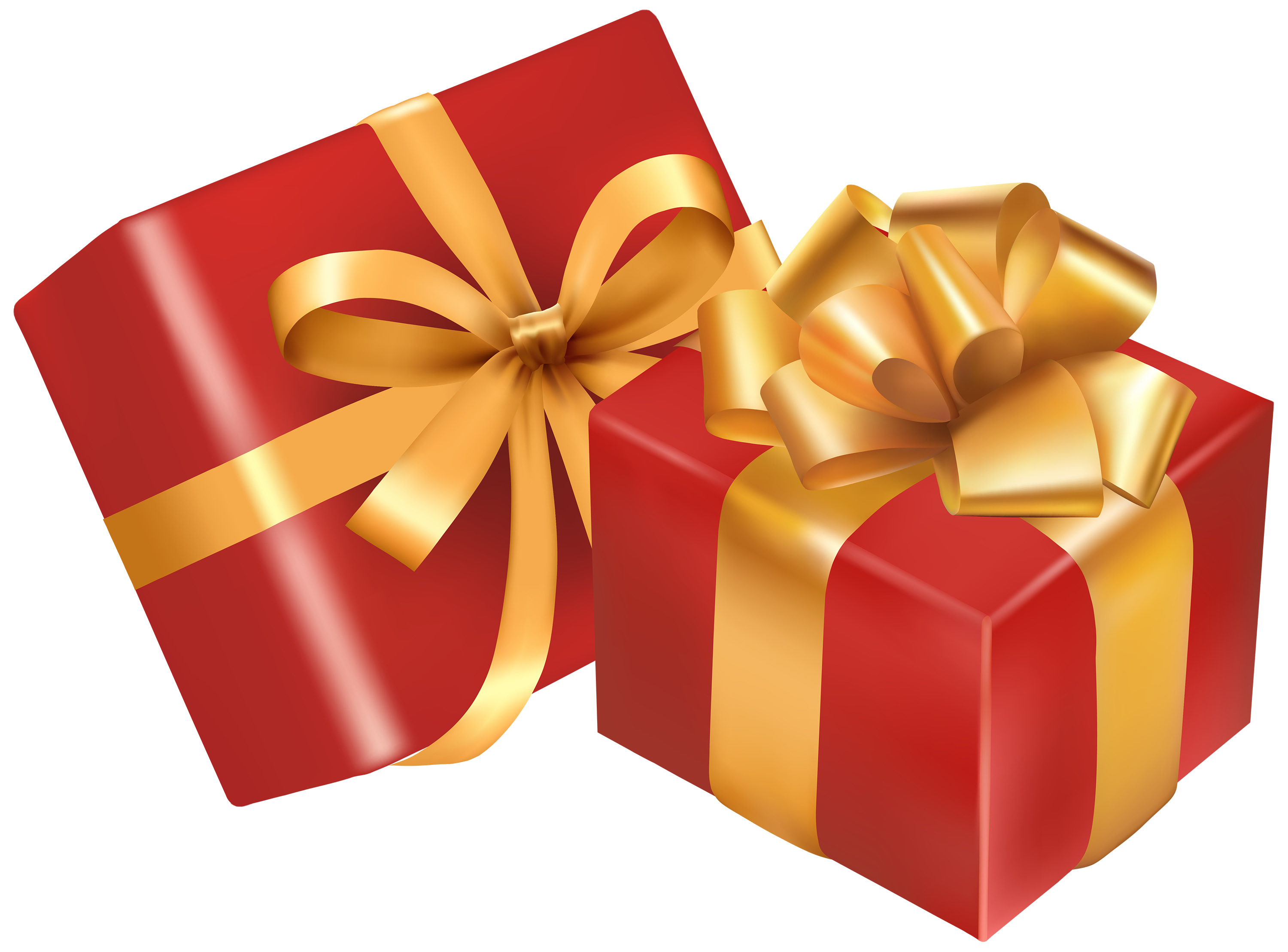 Gift clipart parcel. Two red boxes png