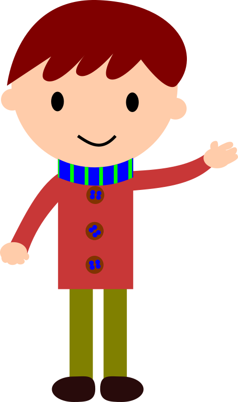Boy clip art free. Voting clipart kid