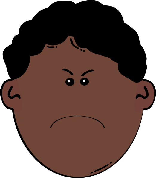 frustrated clipart frustration face