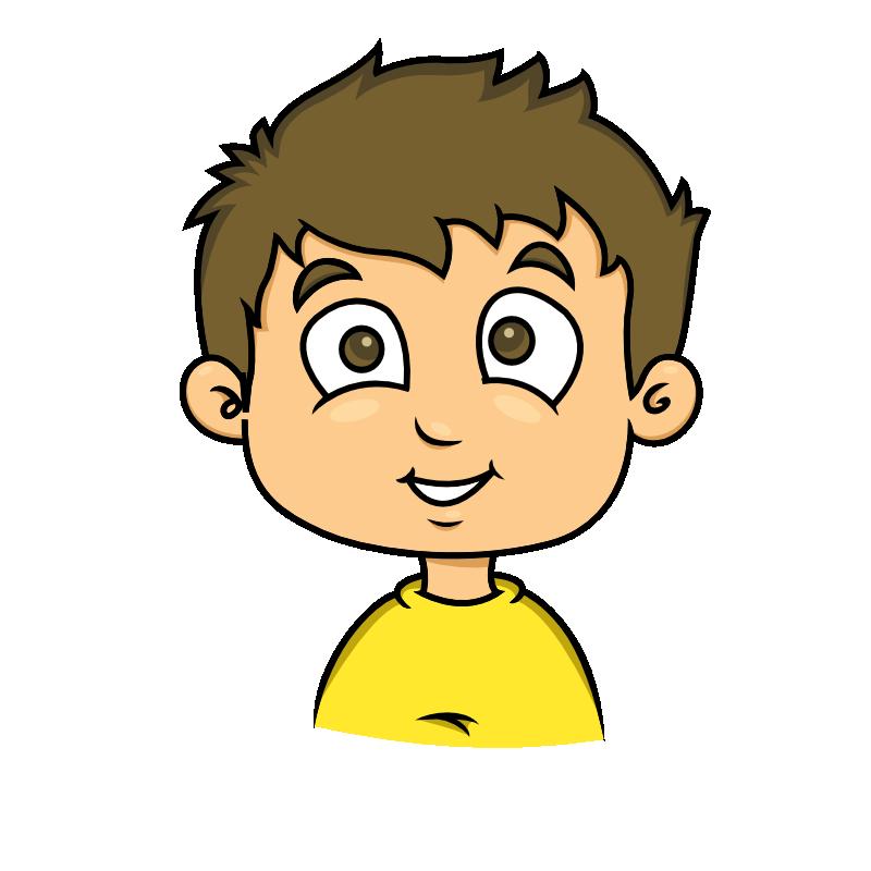 Cartoon boy face free. Happiness clipart happine