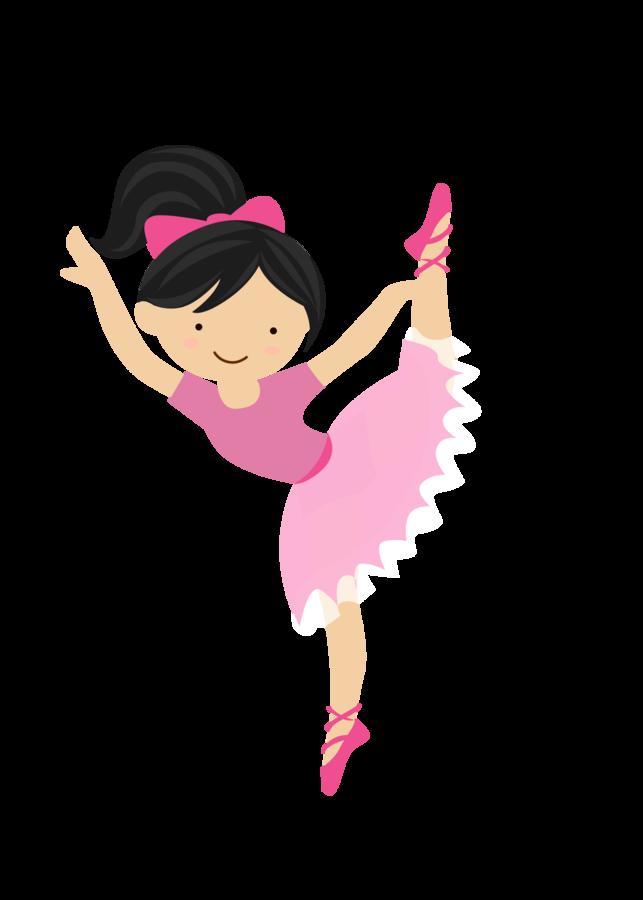 Little ballet dancer png. Clipart dance cute