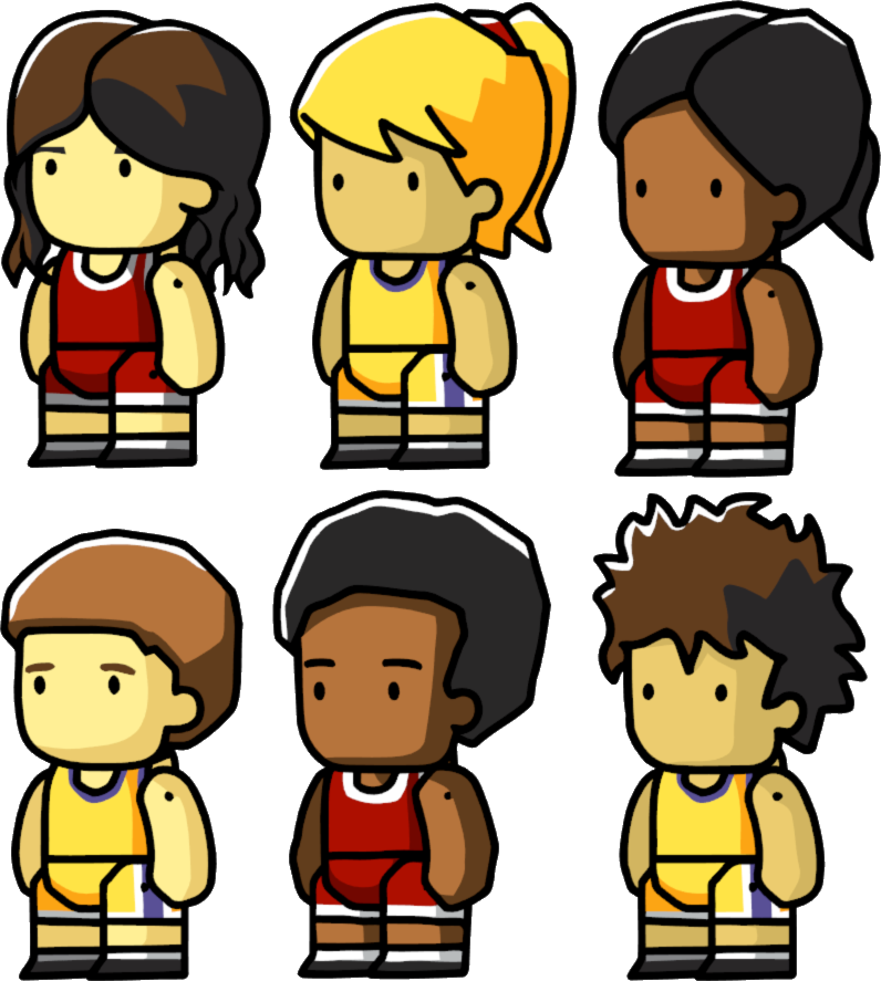 Image variants png scribblenauts. Clipart boy basketball player