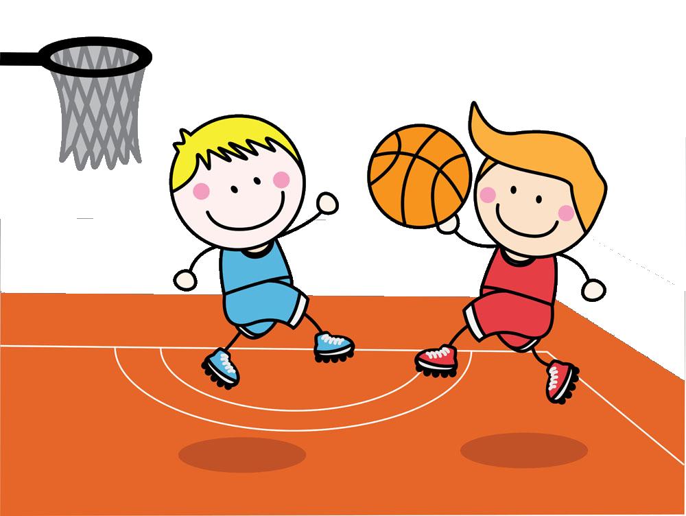 Child basketball