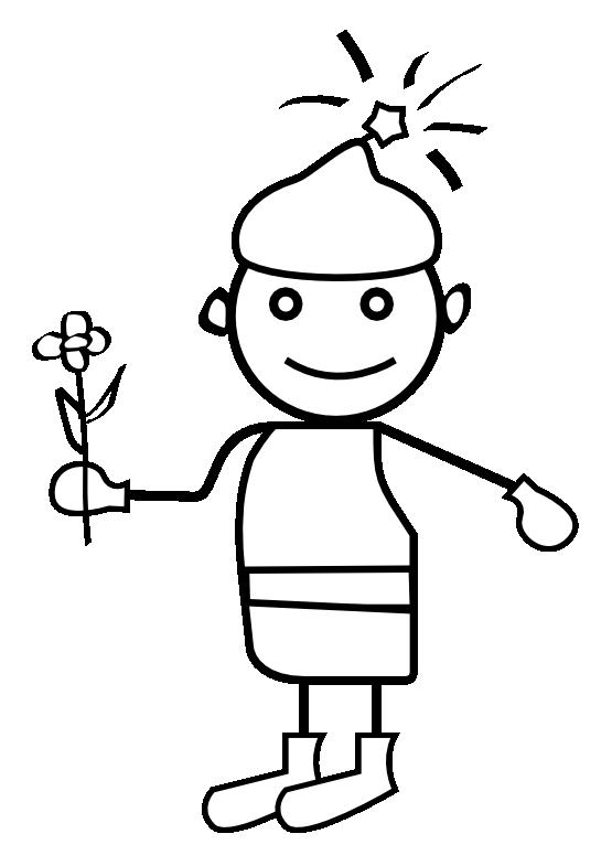 Clipart boy black and white. Clipartist net clip art