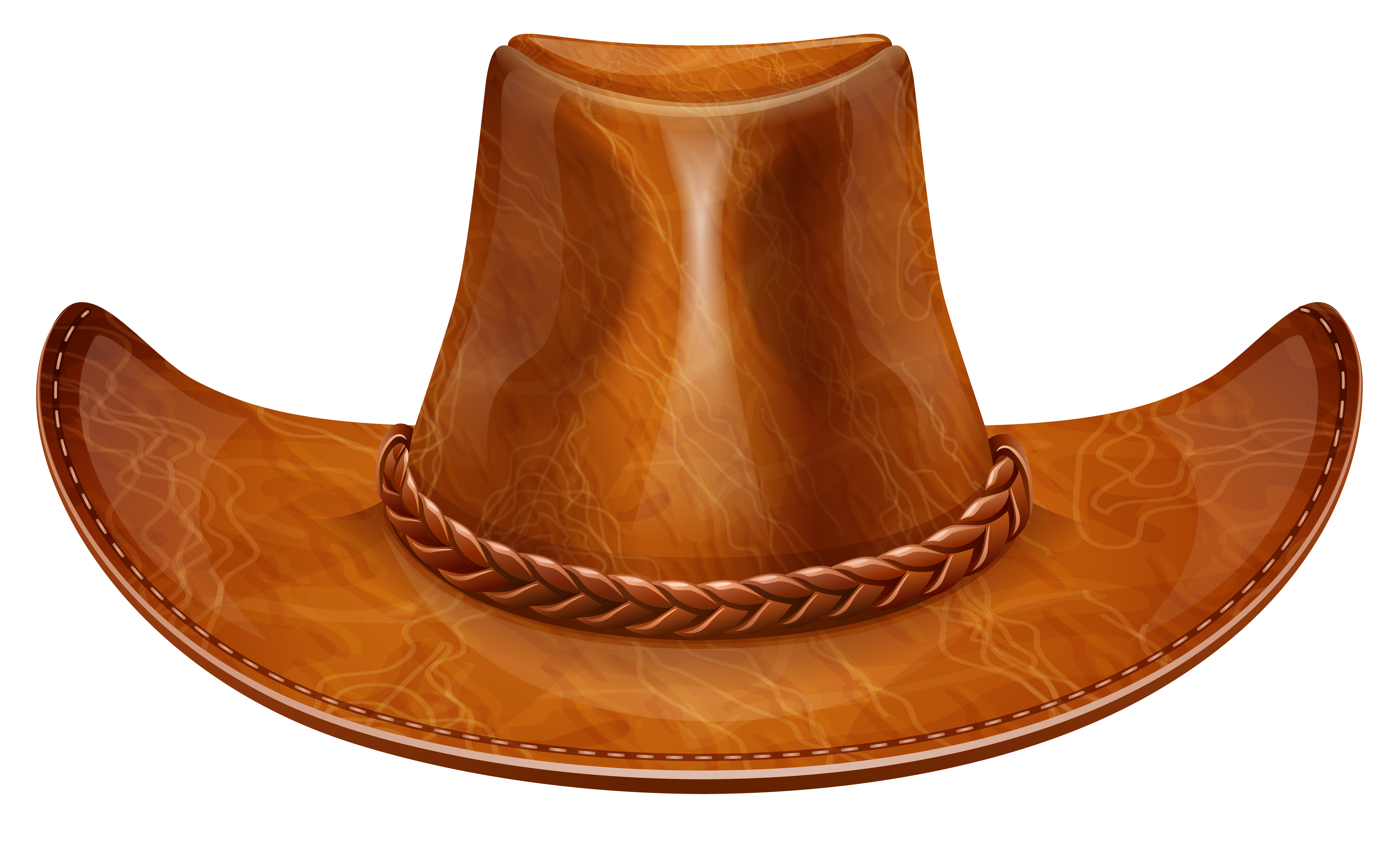 Clipart cow hat. Brown cowboy png gallery