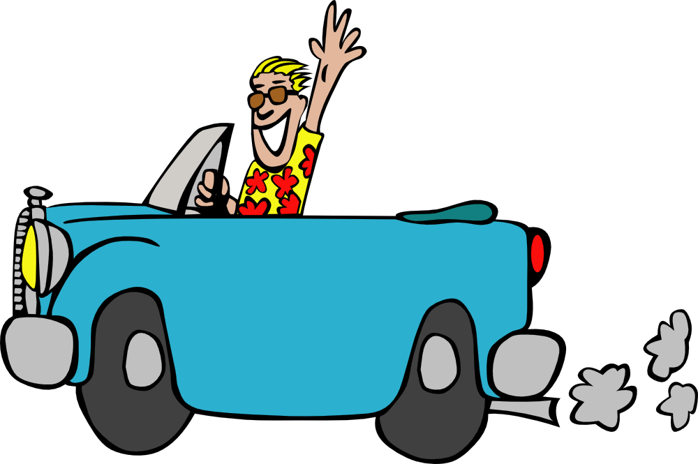 Square clipart car. Onlinelabels clip art driving