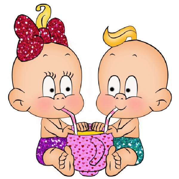 Infant clipart animated. Funny baby girl and