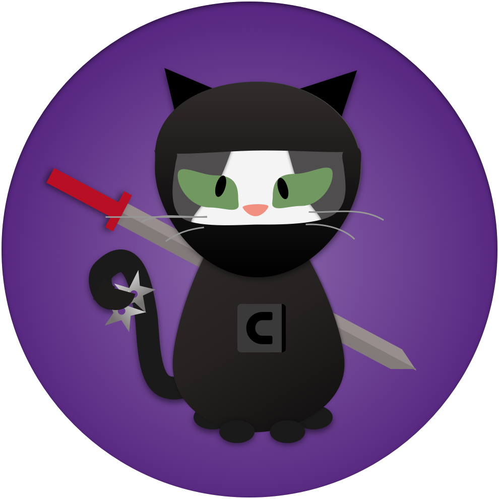 Detective clipart cat. Cats by contrast security