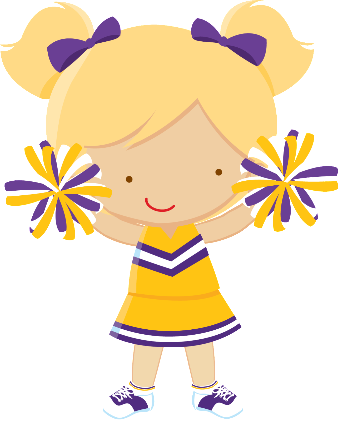Sports gin stica imagenes. Clipart kids cheerleader