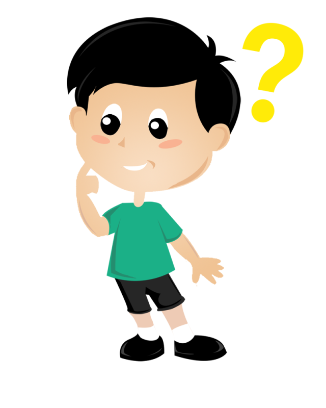Clipart png thinking. Child thought clip art