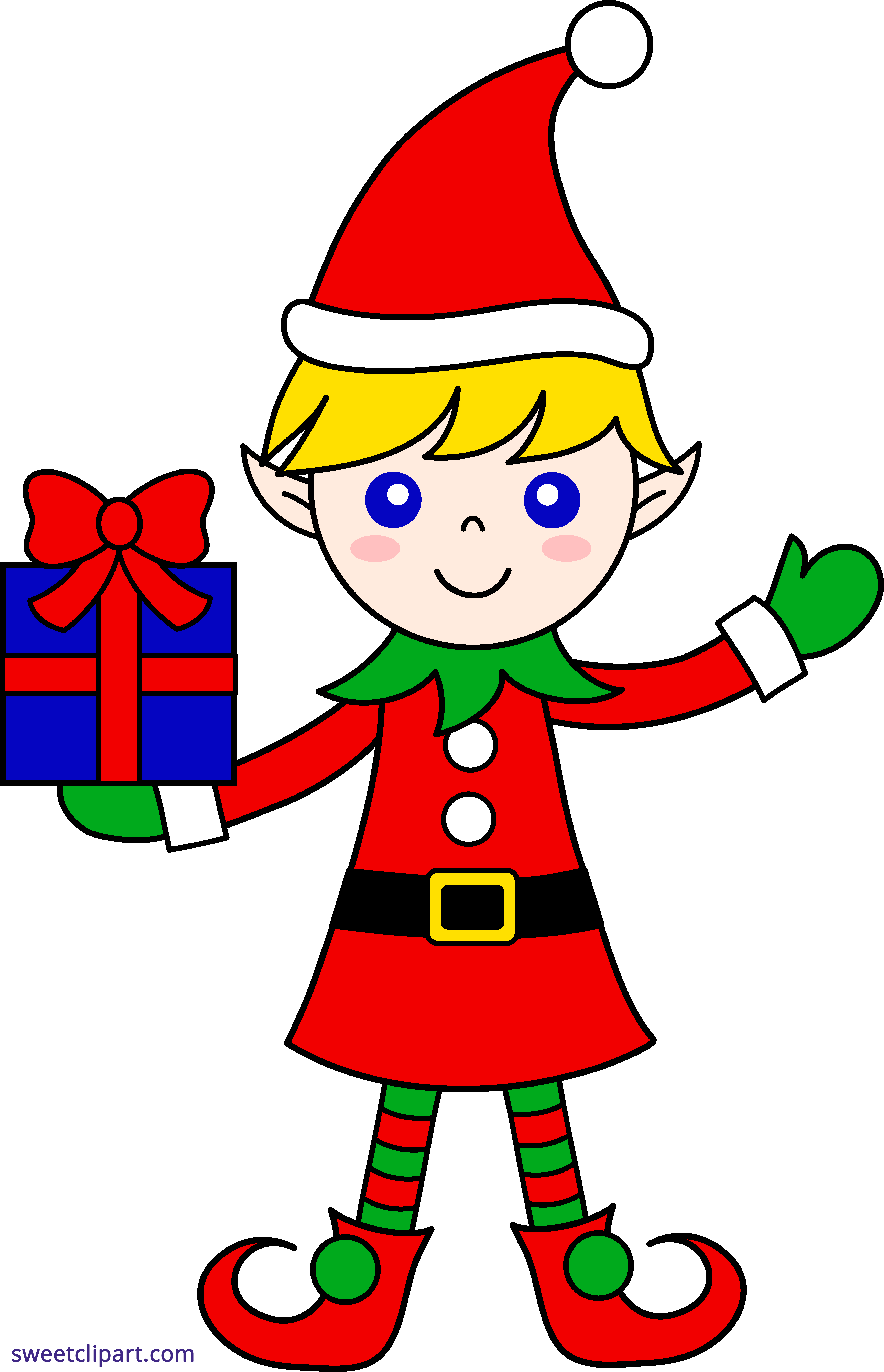 Lunchbox clipart boy. Christmas elf sweet clip