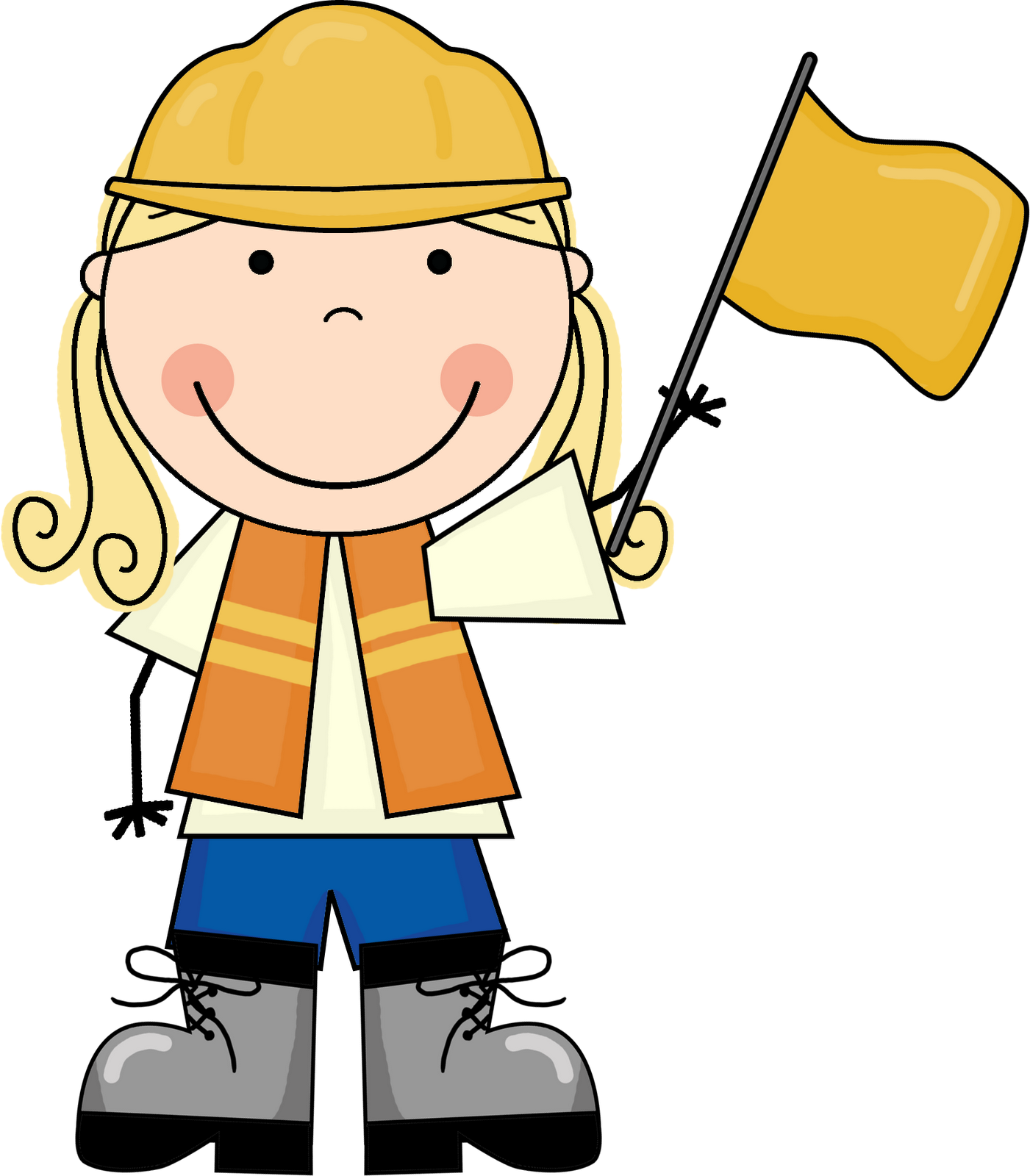 Clipart man construction.  collection of kids