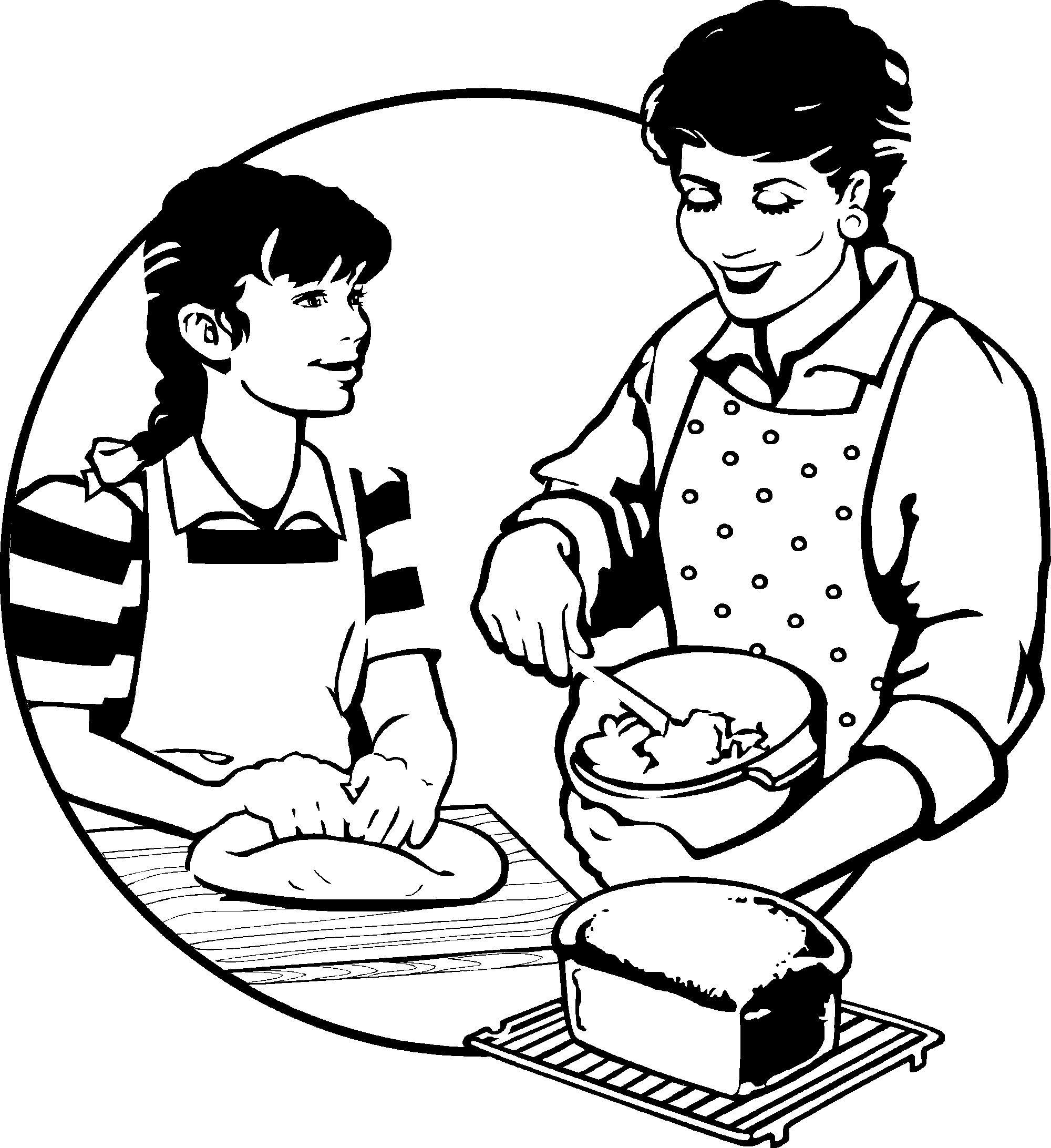 Junior chefs recipes by. Cooking clipart mummy