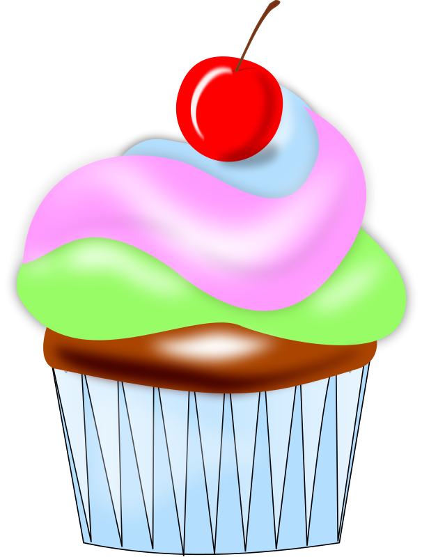 Muffins clipart ckae. Cupcake free to use