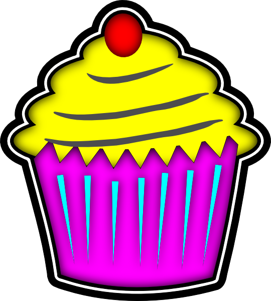 Muffins clipart simple cupcake. Halloween free images clipartix