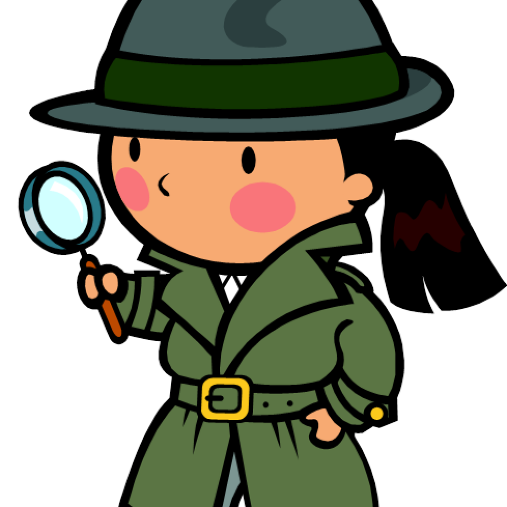 Detective clipart boy. Hypothesis fall hatenylo com