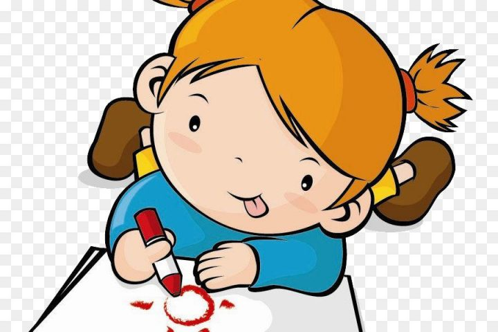 Child drawing at paintingvalley. Draw clipart kid draw