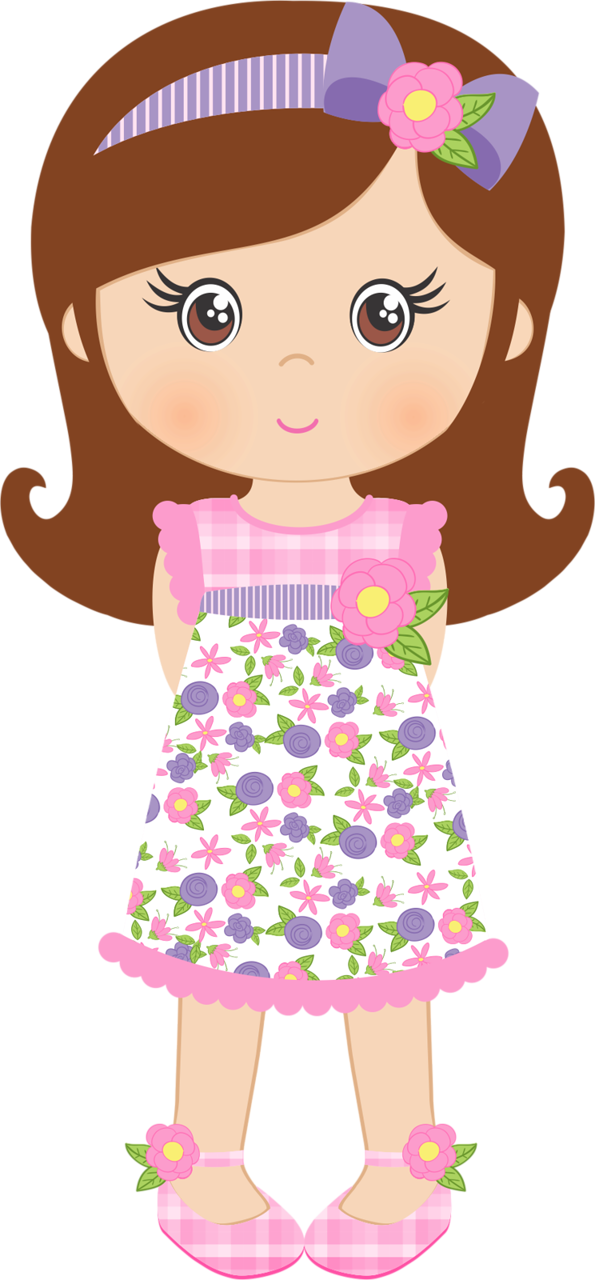 Dolls clipart pink doll. Spring shabby chic png