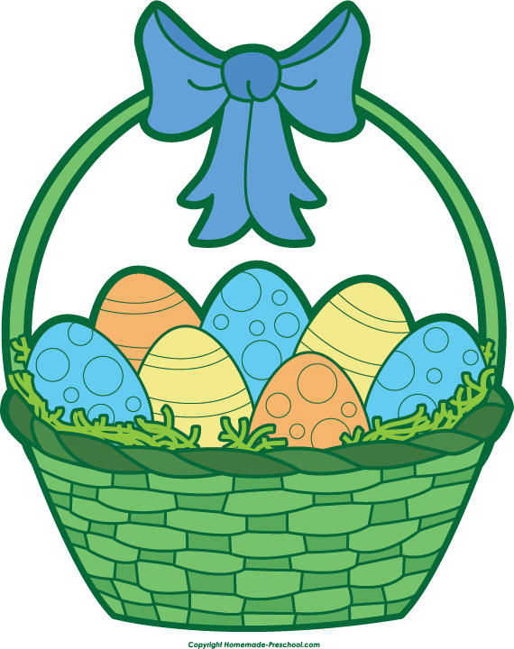 Clipart bunny basket. Raffle t easter clip