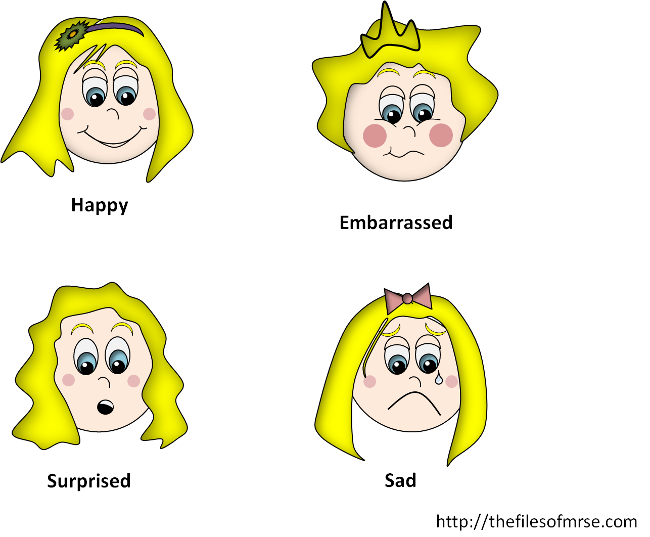Surprise clipart emotion. The files of mrs