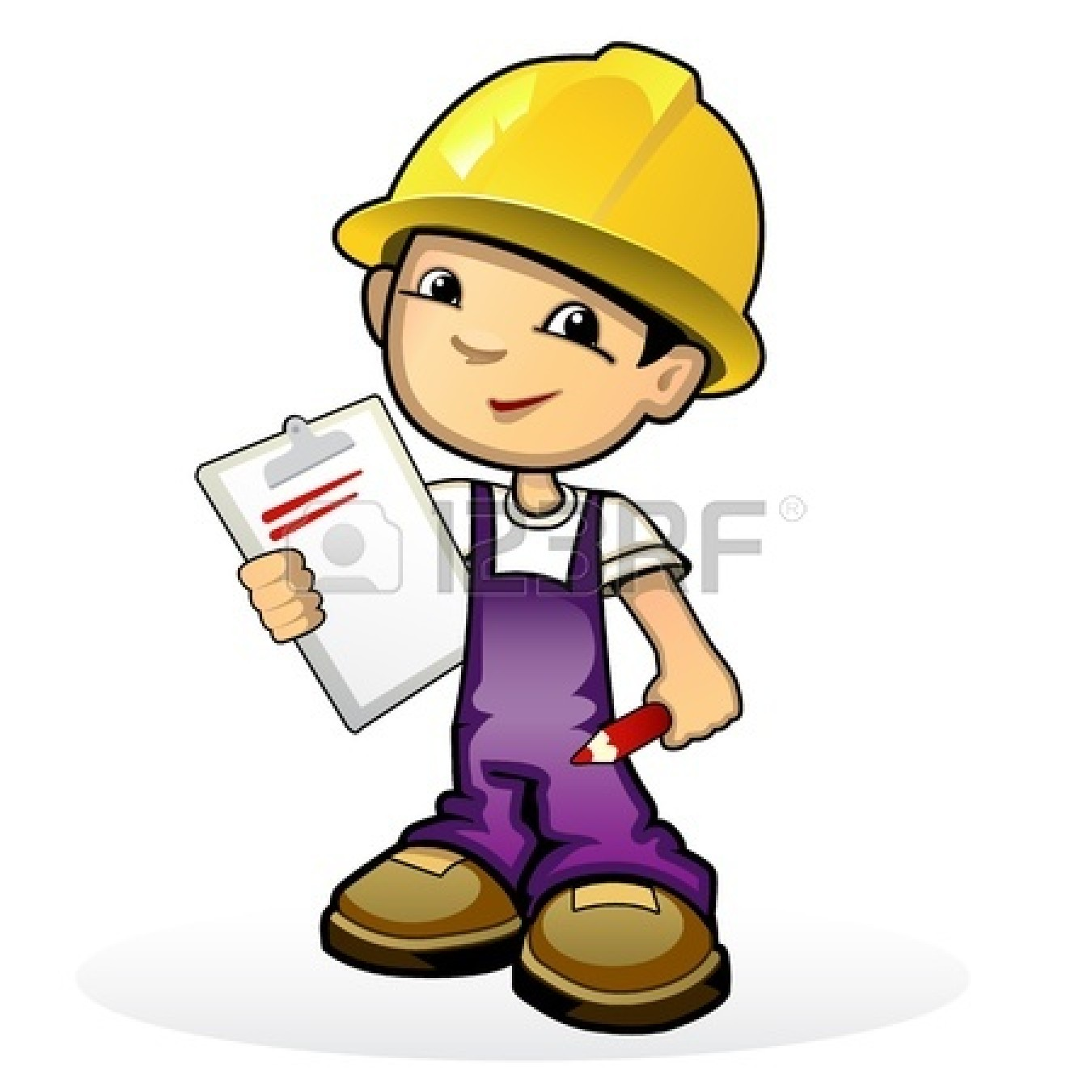 Engine clipart enginner. Boy engineer pencil and
