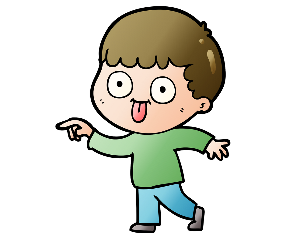 Being a dumbass is. Kid clipart exercise