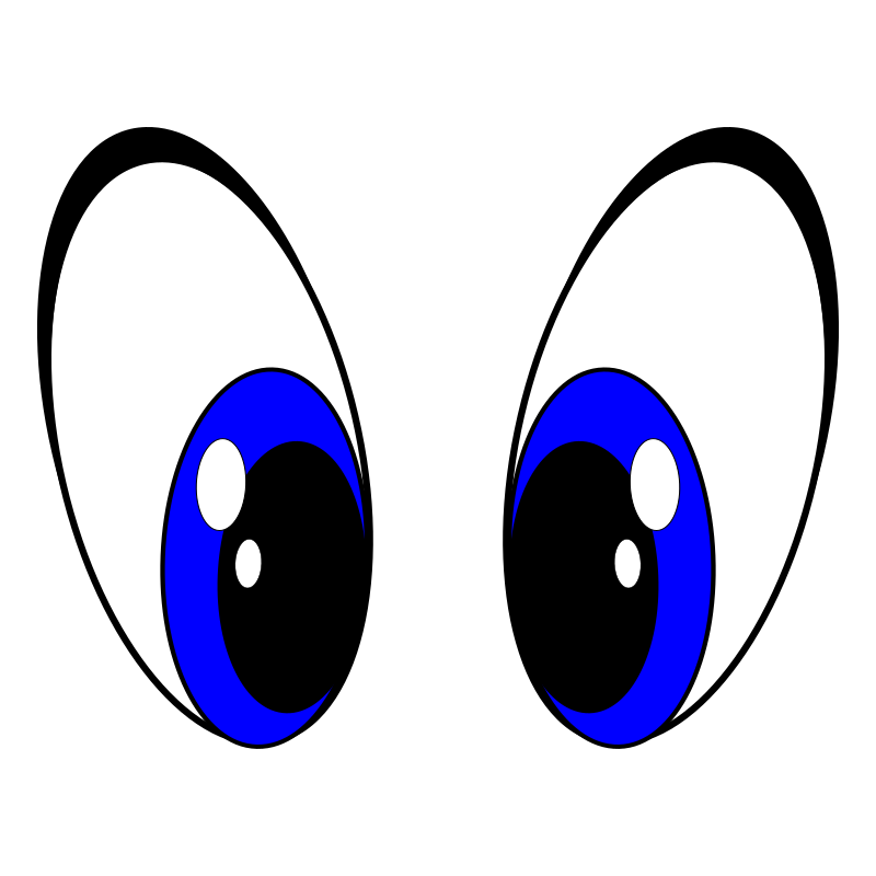 Clipart eyes blue. Big medium image png