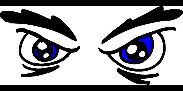 Eyeballs clipart red eye. Eyes mad people boy